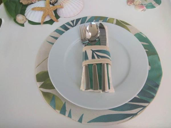 Base de prato Madeira